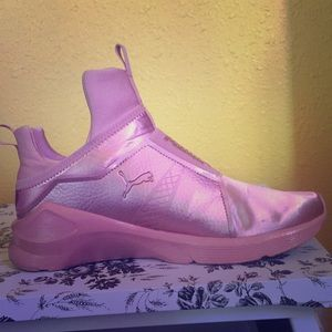 Pink Puma shoes